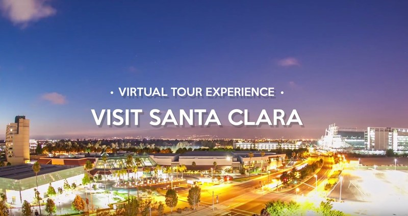 Take a virtual tour of the Santa Clara Convention Center and a variety of Santa Clara visitor attractions, including California's Great America theme park, Intel Museum, Levi's Stadium, and Santa Clara University.