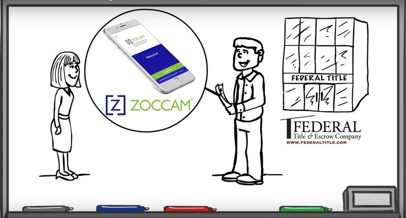 Federal Title & Escrow Company Recognizes ZOCCAM's Secure Mobile Platform as a Must-Have for the Best Closing Experience