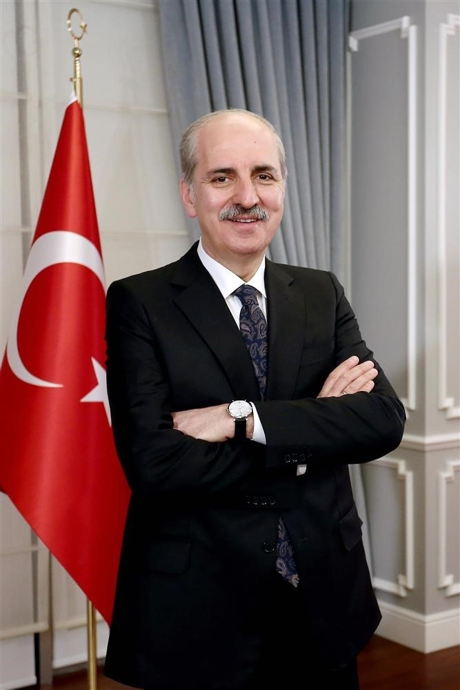 The new Minister of Culture and Tourism of Turkey, the Hon. Professor Dr. Numan Kurtulmuş