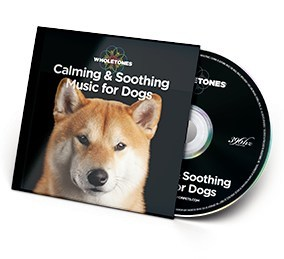 "Wholetones ™ ""Calming & Soothing Music for Dogs"" CD"