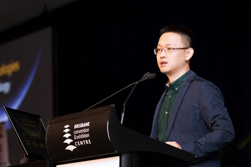 GTCOM CEO Eric Yu addressed the opening ceremony