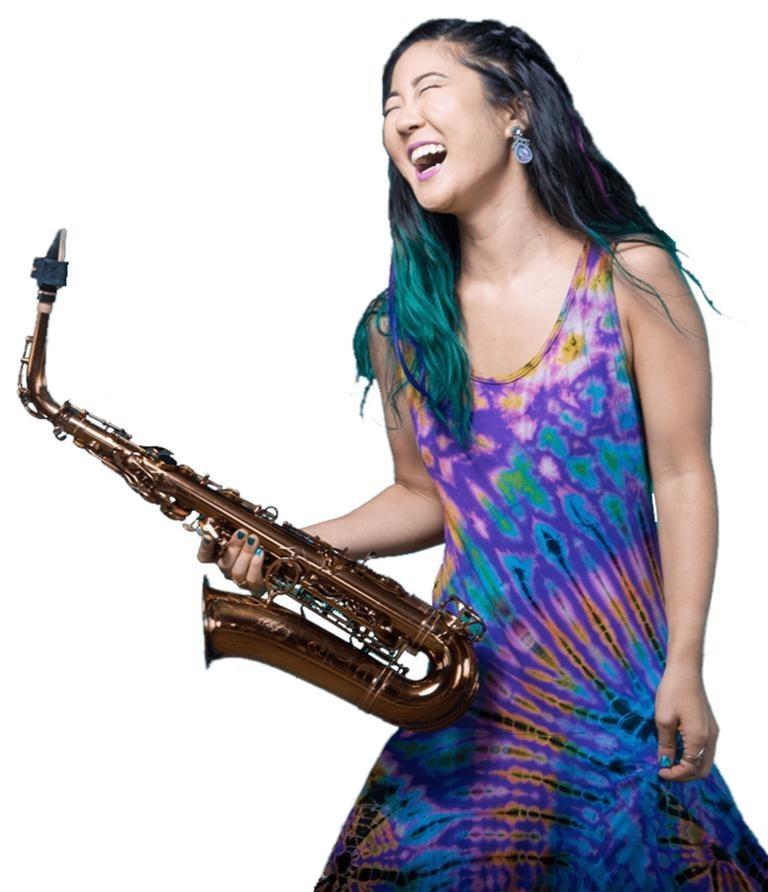 Jazz Saxophonist Grace Kelly!