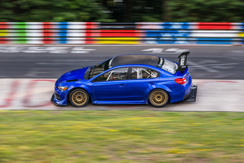 Subaru WRX STI Type RA NBR Special Set a Sub-Seven Minute Lap of the Nürburgring Nordschleife Track (PRNewsfoto/Subaru of America, Inc.)