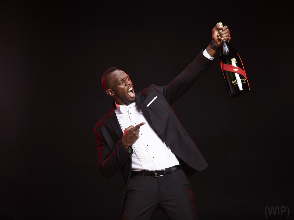 Usain Bolt, new CEO for Maison Mumm (PRNewsfoto/Maison Mumm)