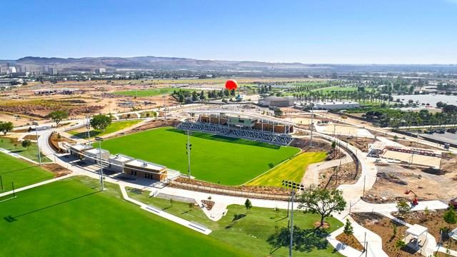 Orange County Great Park Sports Park Championship Soccer Stadium