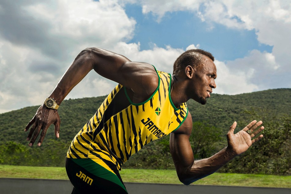 Usain Bolt - Hublot Ambassador (PRNewsfoto/Hublot)