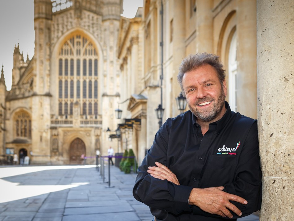 TV Presenter, Martin Roberts, invites you to come along to Achieve your health, wealth and happiness goals at his first Achieve Expo, taking place in Bath this Autumn 2017. www.achieve.co.uk (PRNewsfoto/Martin Roberts' Achieve)