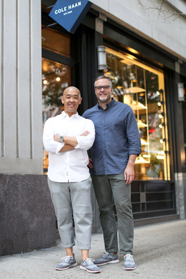 Jeff Staple + Scott Patt, Vice President of Design & Innovation at the Cole Haan Global Innovation Center