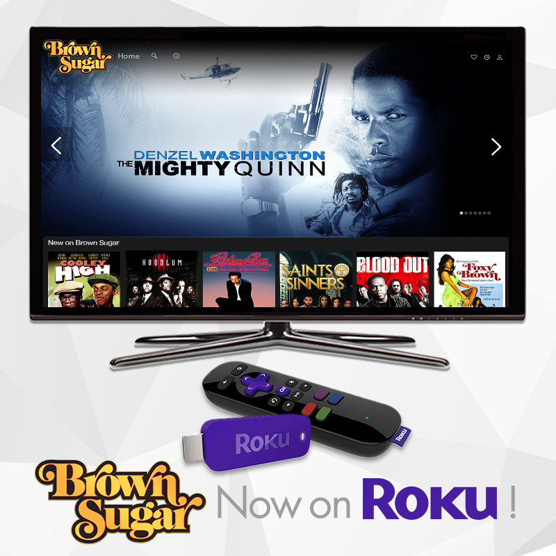 Brown Sugar, the new subscription-video-on-demand service featuring the biggest collection of the baddest African-American movies of all-time, is now available on the Roku® platform. Roku customers can now watch Brown Sugar's extensive and one-of-a-kind library of iconic black movies, all un-edited and commercial-free as they were originally seen in theaters, including Dolemite, Cotton Comes to Harlem, Foxy Brown, In the Heat of the Night, Blacula, Cleopatra Jones and more. Visit BrownSugar.com