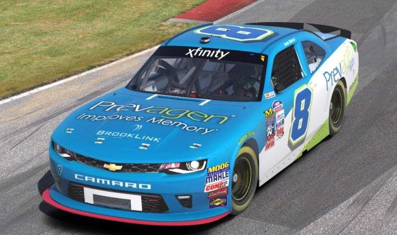 Prevagen Sponsored NASCAR