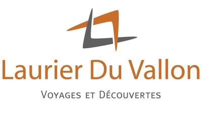 Logo: Les Voyages Laurier Du Vallon (Groupe CNW/Les Voyages Laurier Du Vallon)
