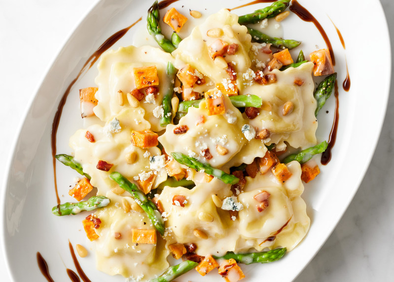 Chicken and Mozzarella Ravioli