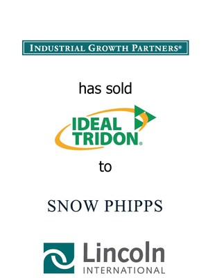 Lincoln International represents Industrial Growth Partners in the sale of Ideal-Tridon to Snow Phipps Group