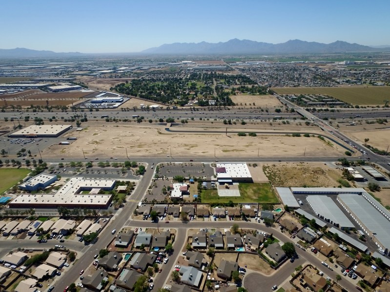 Future site of Fairfield Inn and Suites in the City of Tolleson