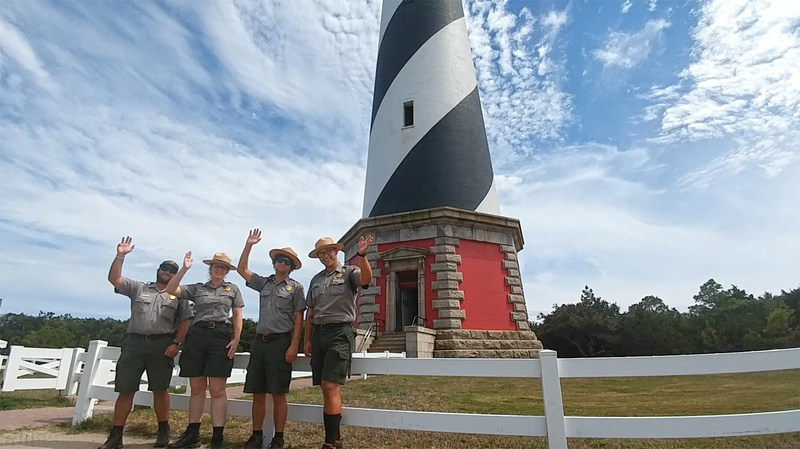 Rangers of the Cape Hatteras National Seashore welcome another wave of visitors to Hatteras Island this weekend as travelers and Outer Banks residents alike look forward to a great summer.