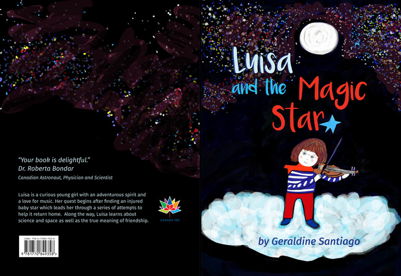 Luisa and the Magic Star Written and Illustrated by Geraldine Santiago Available in English and French (CNW Group/Geraldine Santiago)