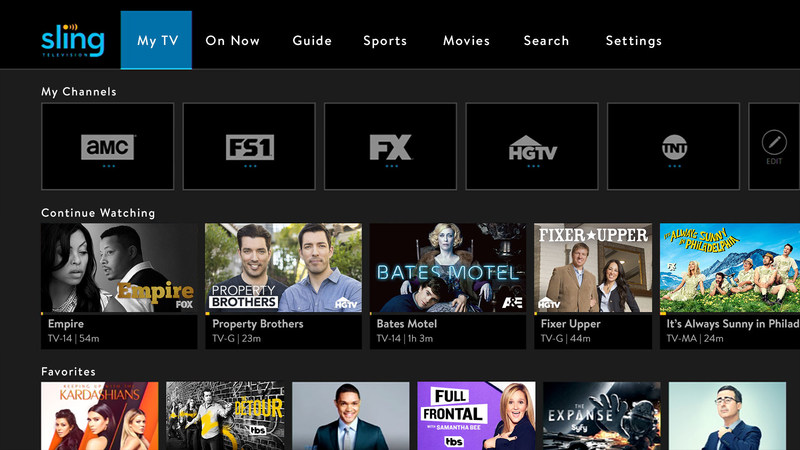 Sling TV – now available on 2017 LG OLED and LG SUPER UHD webOS 3.5-enabled smart TVs – is the first of its kind to offer live and on-demand OTT television services, including general market, Latino and International live and on-demand programming.