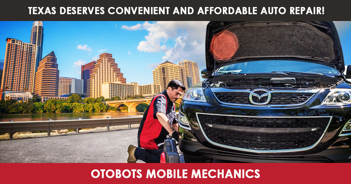Otobots expands on demand mobile car repair service in texas for Motor mile austin texas