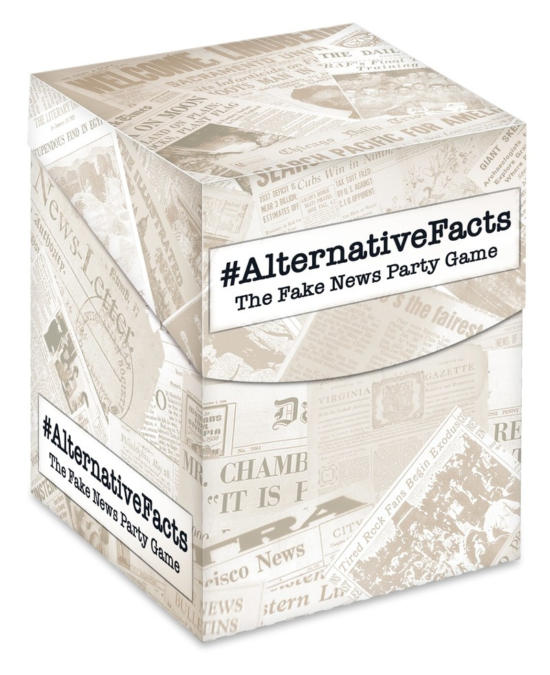 Master click-bait headlines in #AlternativeFacts party game (SKU 10076)
