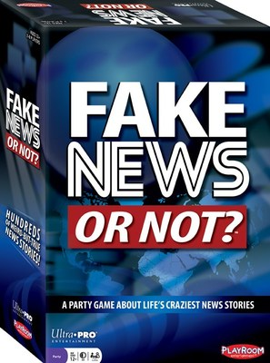 Challenge your fact-checking skills with new game Fake News or Not? (SKU PLE66800)