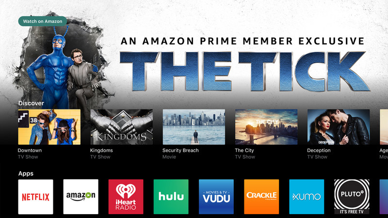 VIZIO SmartCast TV Adds Amazon Video For Quick Access to Thousands of Movies and TV Episodes. Users Can Effortlessly Access Content Directly On the Display Via Dedicated Amazon Video Remote Button.