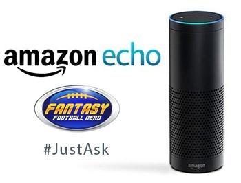 Get fantasy football advice from your Amazon Alexa