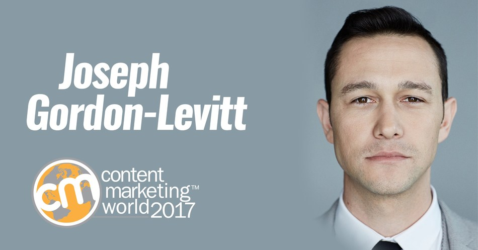 Actor Joseph Gordon-Levitt to be Closing Keynote Speaker at Content Marketing World 2017