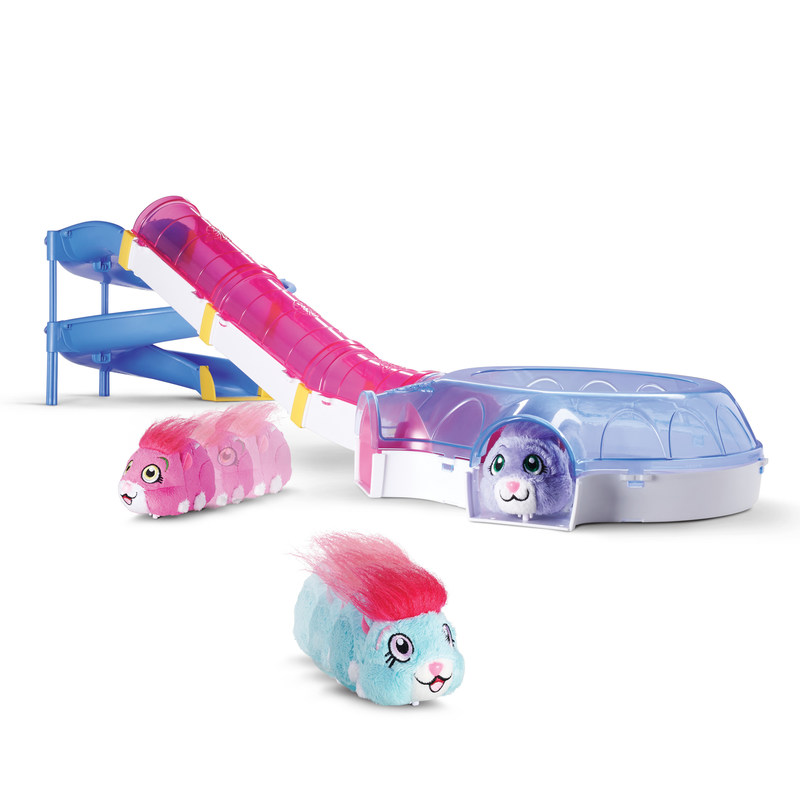 New accessories create endless play opportunities for kids to interact with their ZhuZhu Pet, including ZhuZhu Pets Adventure Ball, ZhuZhu Pets Wheel and Tunnel and ZhuZhu Pets Hamster House Playset. (CNW Group/Spin Master)