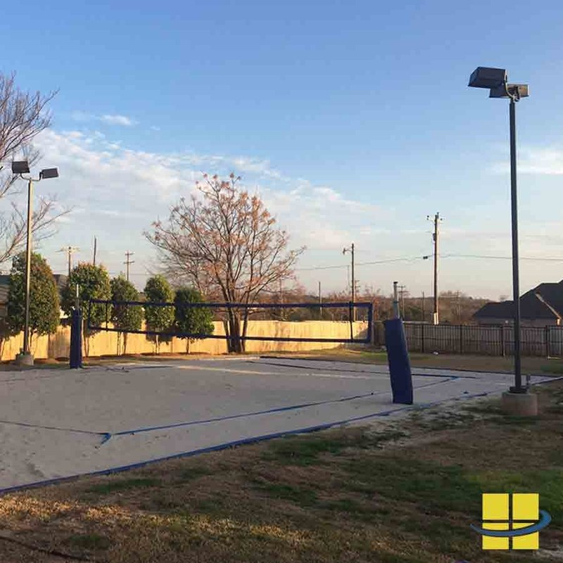 Access Fixtures Launches Recreational Volleyball Court Lighting Packages
