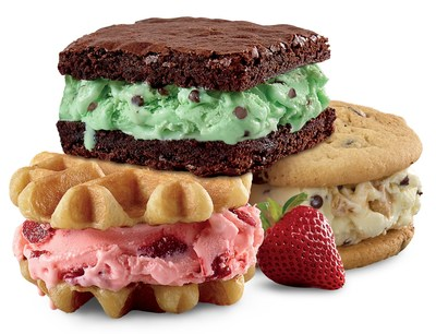 Rita's Italian Ice announces new test store concept — Rita's Italian Ice & Creamery — and offers freshly baked waffles, cookies and brownies sandwiched between new Hand-Scooped Frozen Custard.