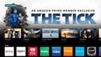 VIZIO SmartCast TV intègre Amazon Prime Video donnant rapidement accès aux films et aux séries  télévisées populaires. Du bouton Amazon Prime Video, touche spéciale sur la télécommande, les utilisateurs au Canada peuvent facilement accéder au contenu directement à l'écran.