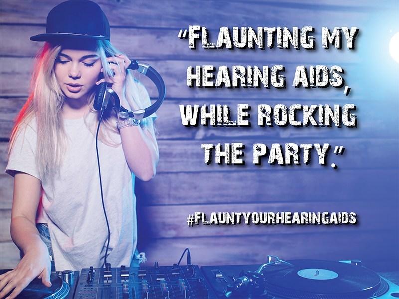Show us how you #FlauntYourHearingAids