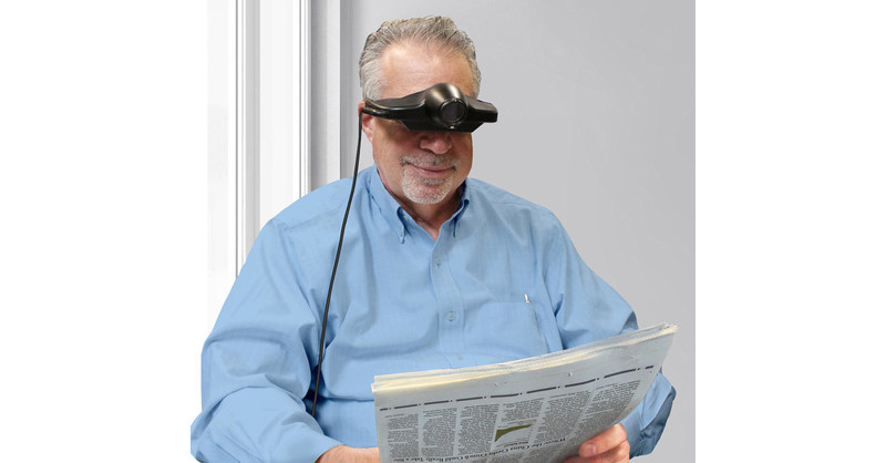 Enhanced Vision Introduces Jordy New Wearable Low Vision Technology At An Affordable Price