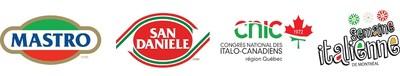 Logo : Semaine italienne de Montréal (Groupe CNW/Congrès national des Italo-Canadiens)