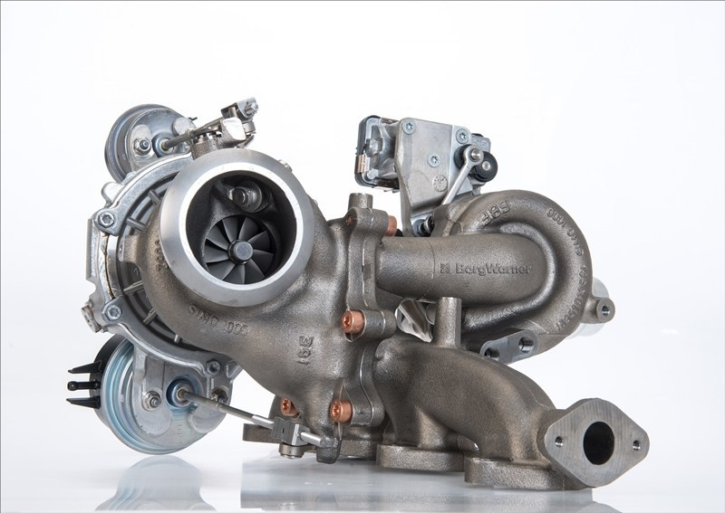 BorgWarner's leading regulated two-stage (R2S®) turbocharging solution improves low-end torque, engine performance and fuel efficiency while contributing to reduced emissions for Jaguar Land Rover models equipped with the new 2.0-liter I4 diesel engine.