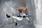 Stav Strashko poses in ZERO-GRAVITY. Source: Reiko Wakai for Wix.com's Capture Your Dream Photo campaign