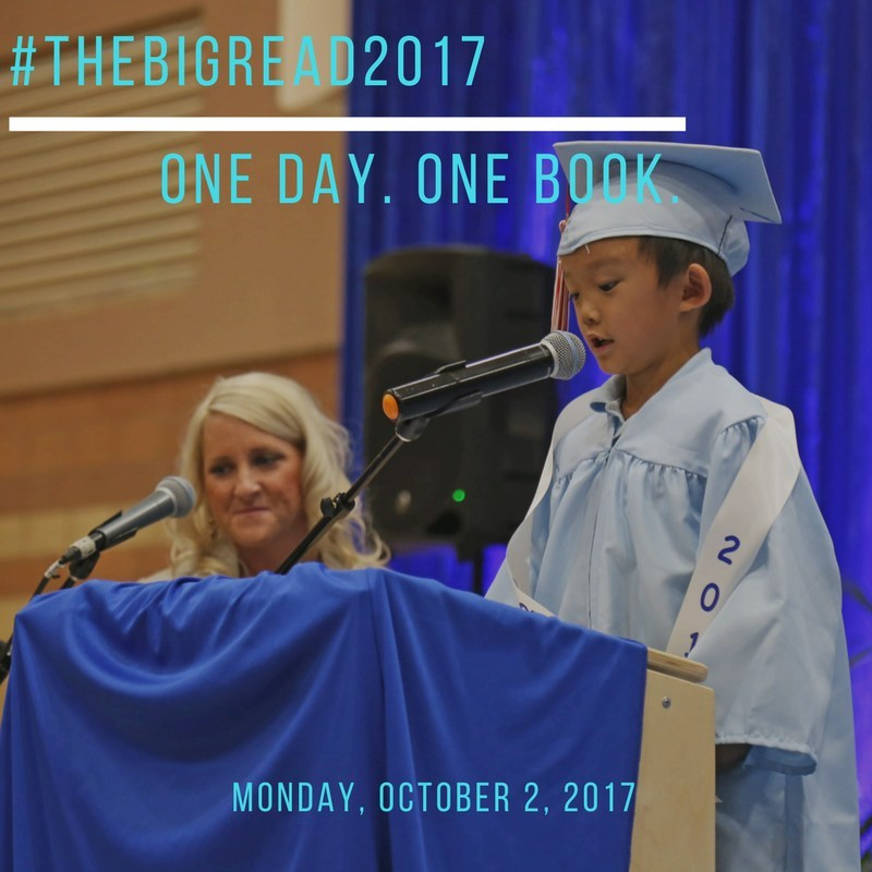 #TheBigRead2017 One Day. One Book.