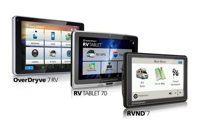 Three New Dashboard Devices for RVs Now From Rand McNally