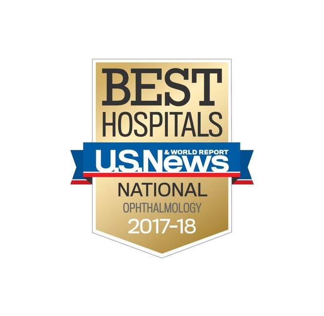 Wills eye hospital earns top national ranking in u s news world report s 2017 2018 best