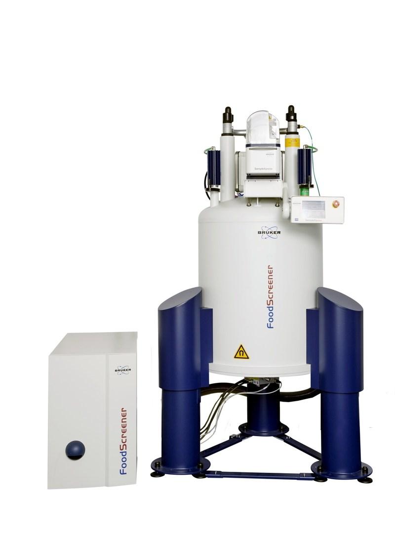 Bruker's NMR FoodScreener enabling NMR Wine-profiling.