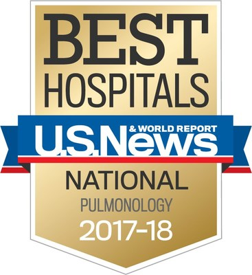 National Jewish Health ranked #1 in pulmonology