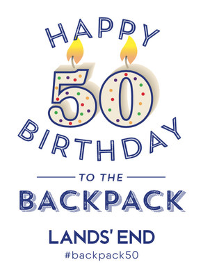 Celebrate the backpack's 50th birthday with Lands' End!