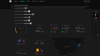 Single dashboard simplifies event marketing for clients