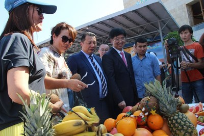 The roadshow event to show Sanya's unique charm as a tropical coastal destination (PRNewsfoto/Sanya Municipal Government)