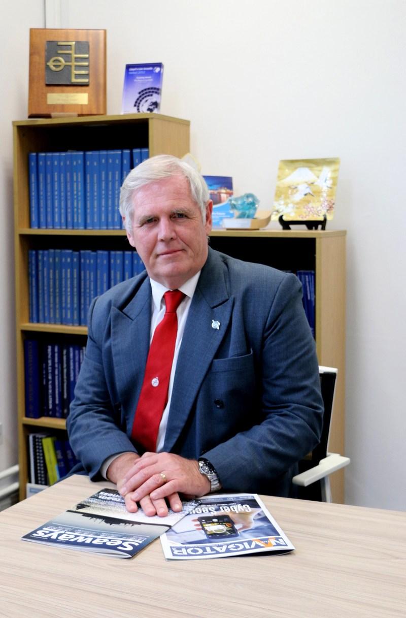 Captain John Lloyd, Chief Executive Officer, The Nautical Institute (PRNewsfoto/Seatrade Communications)