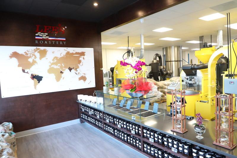 Lee's Coffee Roastery Interior