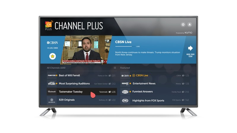Triple Digits: Channel Plus, Exclusively Powered by XUMO, Reaches 100 Channels