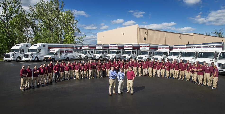 The Able Moving & Storage Team Fleet