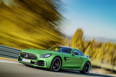 Mercedes-Benz AMG GT R to be featured at Michelin display at Legends of The Autobahn