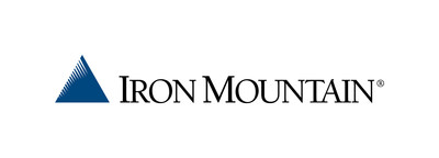 Iron Mountain logo (PRNewsfoto/Iron Mountain)